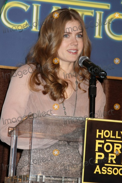 Cecil B DeMille Photo - LOS ANGELES - NOV 9  Amy Adams at the CECIL B DEMILLE AWARD Honoree Announcement at Beverly Hilton Hotel on November 9 2011 in Beverly Hills CA
