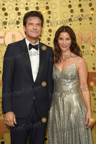 Jason Bateman Photo - LOS ANGELES - SEP 22  Jason Bateman Amanda Anka at the Primetime Emmy Awards - Arrivals at the Microsoft Theater on September 22 2019 in Los Angeles CA