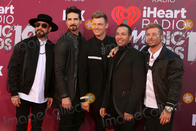 Nick Carter Photo - LOS ANGELES - MAR 14  Backstreet Boys AJ McLean Kevin Richardson Brian Littrell Nick Carter Howie Dorough at the iHeart Radio Music Awards - Arrivals at the Microsoft Theater on March 14 2019 in Los Angeles CA