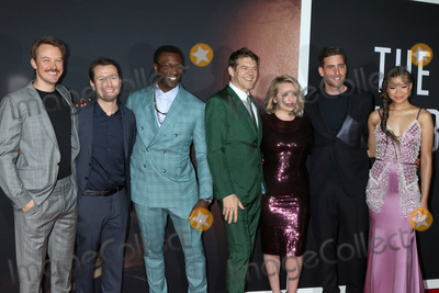 Aldis Hodge Photo - LOS ANGELES - FEB 24  Michael Dorman Leigh Whannell Aldis Hodge Jason Blum Elisabeth Moss Oliver Jackson-Cohen and Storm Reid at the The Invisible Man Premiere at the TCL Chinese Theater IMAX on February 24 2020 in Los Angeles CA