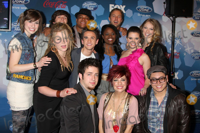 Aaron Kelly Photo - (l-r Back row) Siobhan Magnus Tim urban Michael Lynche Casey James Didi Benami  Middle Row - Crystal Bowersox Aaron Kelly Paige Miles Katie Stevens Front row- Lee Dewyze Lacey Brown Andrew Garciaarriving at the American Idol Top 12 Party for Season 9Industry ClubLos Angeles CAMarch 11 20102010 Kathy Hutchins  Hutchins Photo