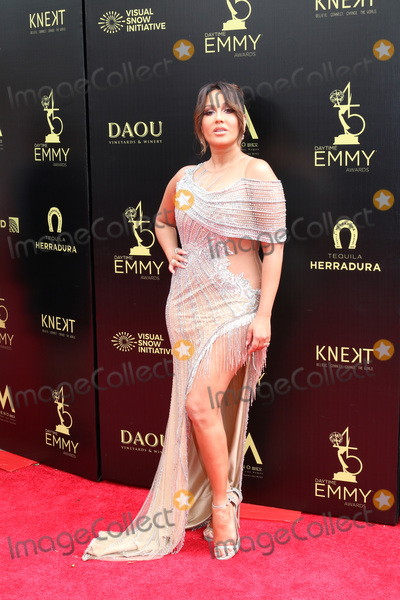 Adrienne Bailon Photo - LOS ANGELES - APR 29  Adrienne Bailon Houghton at the 45th Daytime Emmy Awards at the Pasadena Civic Auditorium on April 29 2018 in Pasadena CA