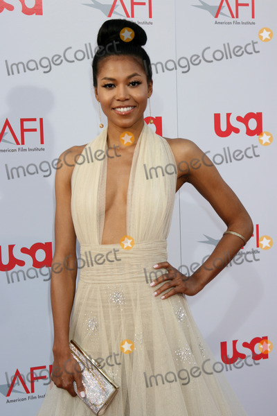 Amerie Photo - Amerie arrives at the AFI Salute to Warren Beatty at the Kodak Theater in Los Angeles CAJune 12 2008