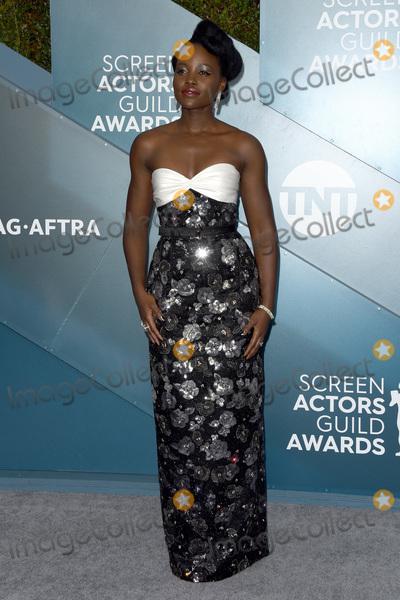Lupita Nyongo Photo - LOS ANGELES - JAN 19  Lupita Nyongo at the 26th Screen Actors Guild Awards at the Shrine Auditorium on January 19 2020 in Los Angeles CA