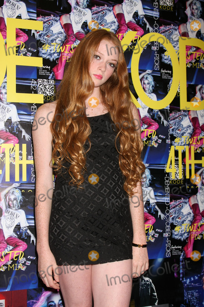 Larsen Thompson Photo - LOS ANGELES - SEP 23  Larsen Thompson at the KODE Magazine October 2015 Issue Party at the The Well on September 23 2015 in Los Angeles CA