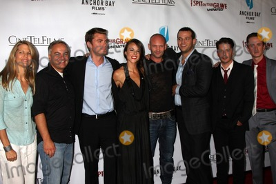 Andrew Howard Photo - LOS ANGELES - SEP 29  Lisa Hansen Kevin Kasha Jeff Branson Sarah Butler Andrew Howard Daniel Franzese Rodney Eastman Chad Lindberg arrives at the I Spit on Your Grave Premiere at Mann Chinese 6 Theaters - Hollywood  Highland on September 29 2010 in Los Angeles CA