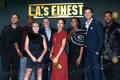 Laz Alonso Photo - LOS ANGELES - MAY 10  Joshua Alba Sophie Reynolds Duane Martin Zach Gilford Jessica Alba Gabrielle Union Ryan McPartlin Laz Alonso at the LAs Finest TV Show Premiere at the Sunset Tower Hotel on May 10 2019 in West Hollywood CA