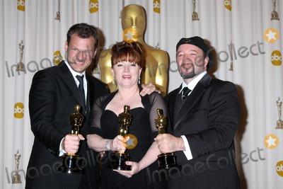 Joel Harlow Photo - Makeup artists (L-R) Joel Harlow Mindy Hall and Barney Burman winners of Best Makeup award for Star Trekin the Press Room of the 82nd Academy AwardsKodak TheaterLos Angeles CAMarch 7 2010