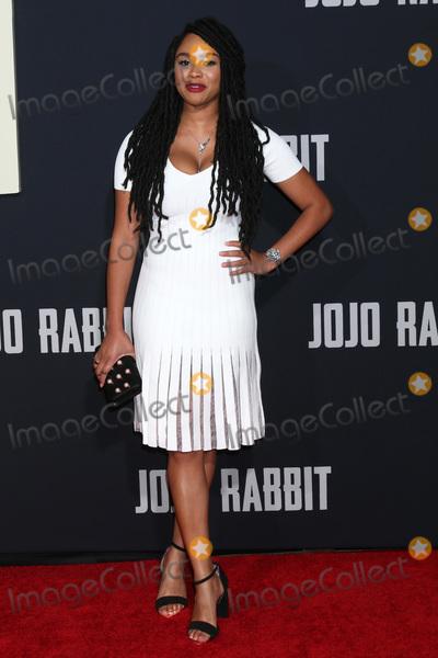 Tanisha Long Photo - LOS ANGELES - OCT 15  Tanisha Long at the Jojo Rabbit Premiere at the American Legion Post 43 on October 15 2019 in Los Angeles CA