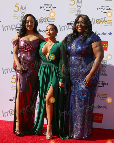 Adrienne Houghton Photo - LOS ANGELES - MAR 30  Tamera Mowry-Housley Adrienne Houghton Loni Love at the 50th NAACP Image Awards - Arrivals at the Dolby Theater on March 30 2019 in Los Angeles CA