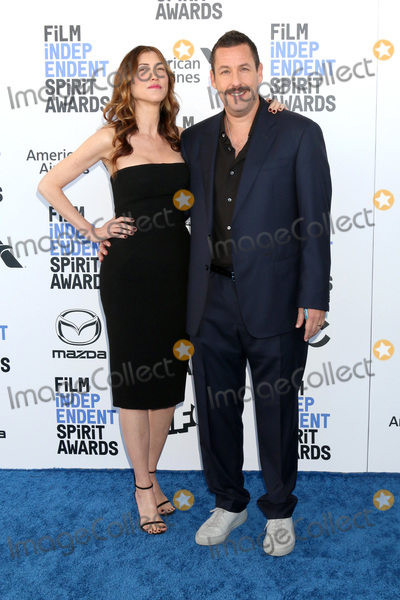 Adam Sandler Photo - LOS ANGELES - FEB 8  Jackie Sandler and Adam Sandler at the 2020 Film Independent Spirit Awards at the Beach on February 8 2020 in Santa Monica CA