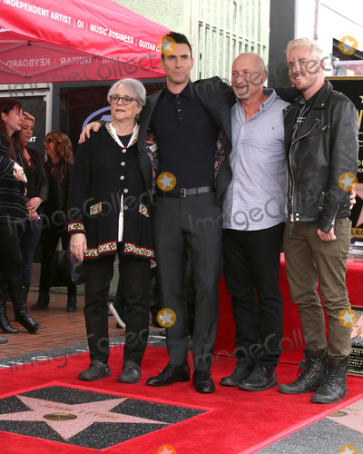 Adam Levine Photo - LOS ANGELES - FEB 10  Mom Adam Levine Dad brother at the Adam Levine Hollywood Walk of Fame Star Ceremony at Musicians Institute on February 10 2017 in Los Angeles CA