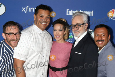 Anna Camp Photo - LOS ANGELES - SEP 16  Will Greenberg Geno Segers Anna Camp Bradley Whitford  Rizwan Manji at the NBC Comedy Starts Here Event at the NeueHouse on September 16 2019 in Los Angeles CA