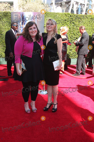 Aidy Bryant Photo - LOS ANGELES - AUG 16  Aidy Bryant Kate McKinnon at the 2014 Creative Emmy Awards - Arrivals at Nokia Theater on August 16 2014 in Los Angeles CA