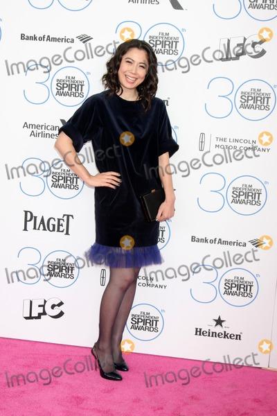 Ayako Fujitani Photo - LOS ANGELES - FEB 21  Ayako Fujitani at the 30th Film Independent Spirit Awards at a tent on the beach on February 21 2015 in Santa Monica CA