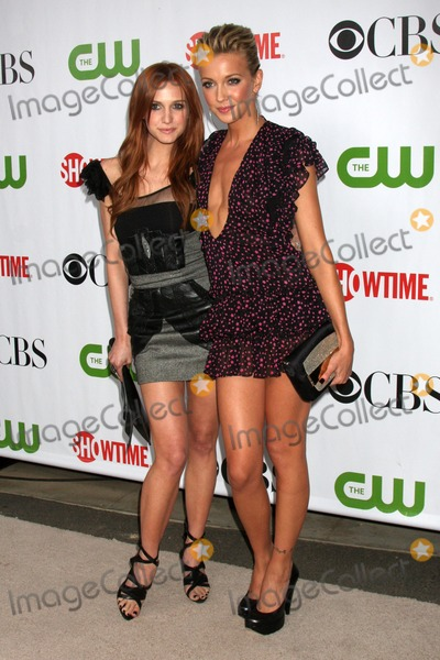 Ashley Simpson Photo - Ashley Simpson-Wentz  Katie Cassidy arriving at the CBS  Showtime  CW  CBS Television Distribution TCA Stars Party at the Huntington Library in San Marino CA  on August 3 2009