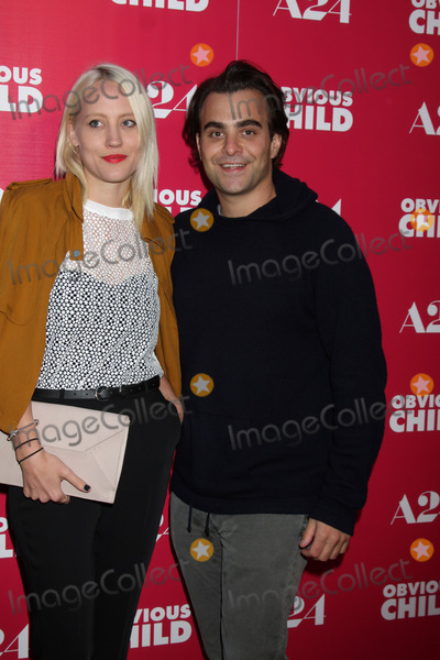 Annette Nyseth Photo - LOS ANGELES - JUN 5  Annette Nyseth Nick Jarecki at the Obvious Child LA Screening at ArcLight Hollywood Theaters on June 5 2014 in Los Angeles CA