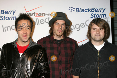 Hoobastank Photo - Hoobastank arriving to the Blackberry Storm Event at Avalon in Hollywood CA  onOctober 29 2008