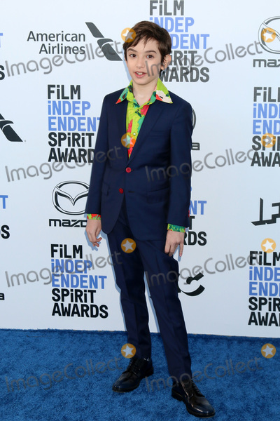 Azhy Robertson Photo - LOS ANGELES - FEB 8  Azhy Robertson at the 2020 Film Independent Spirit Awards at the Beach on February 8 2020 in Santa Monica CA