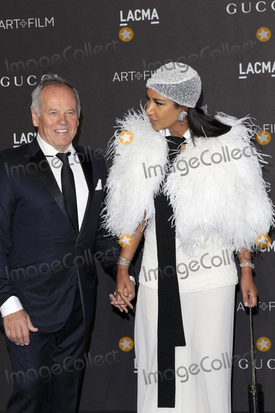 Puck Photo - LOS ANGELES - NOV 3  Wolfgang Puck Gelila Asefa at the 2018 LACMA Art and Film Gala at the Los Angeles County Musem of Art on November 3 2018 in Los Angeles CA