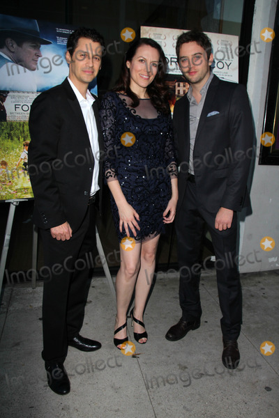 Andy Hirsch Photo - LOS ANGELES - AUG 15  Andy Hirsch Kate Connor Johnny Pacar at the Fort McCoy Premiere at Music Hall Theater on August 15 2014 in Beverly Hills CA