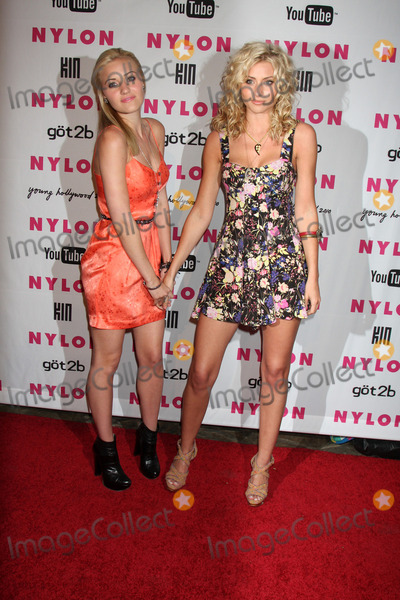 Amanda AJ Michalka Photo - Amanda AJ Michalka  Alyson Aly Michalkaarrives at the Nylon Magazine Young Hollywood Party 2010Hollywood Roosevelt Hotel PoolsideLos Angeles CAMay 12 2010