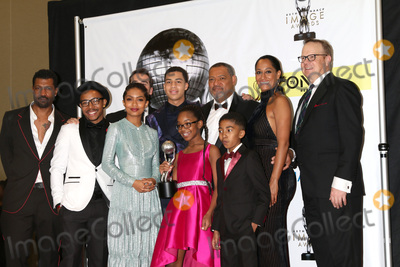 Allen Maldonado Photo - LOS ANGELES - FEB 11  Deon Cole Allen Maldonado Jeff Meacham Yara Shahidi Marcus Scribner Marsai Martin Laurence Fishburne Miles Brown Tracee Ellis Ross Peter Mackenzie at the 48th NAACP Image Awards Press Room at Pasadena Conference Center on February 11 2017 in Pasadena CA