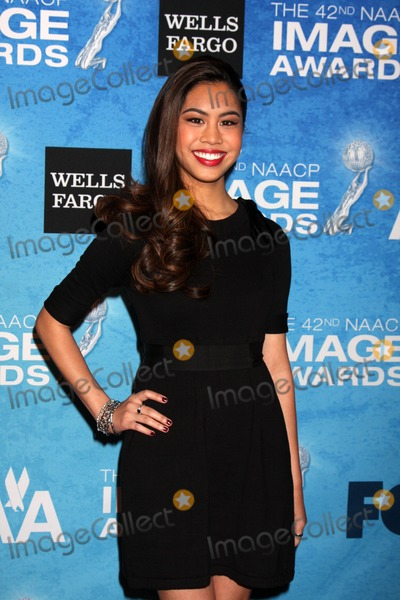 Ashley Argota Photo - LOS ANGELES - FEB 12  Ashley Argota arrives at the 2011 NAACP Image Awards Nominee Reception at Beverly Hills Hotel on February 12 2011 in Beverly Hills CA