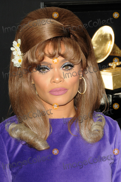 Andra Day Photo - LOS ANGELES - FEB 10  Andra Day at the 61st Grammy Awards at the Staples Center on February 10 2019 in Los Angeles CA
