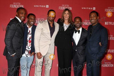 Anthony Mackie Photo - LOS ANGELES - NOV 9  Anthony Mackie Malcolm David Kelley Laz Alonso Kathryn Bigelow Algee Smith Tyler James Williams at the SAG-AFTRA Foundations Patron of the Artists Awards 2017 at Wallis Annenberg Center for the Performing Arts on November 9 2017 in Beverly Hills CA