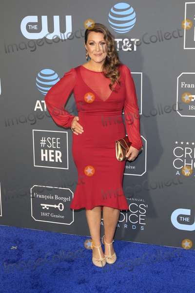 Amber Nash Photo - LOS ANGELES - JAN 13  Amber Nash at the Critics Choice Awards  at the Barker Hanger on January 13 2019 in Santa Monica CA
