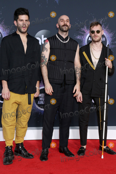 X Ambassadors Photo - LOS ANGELES - NOV 24  X Ambassadors - Adam Levin Sam Harris Casey Harris at the 47th American Music Awards - Arrivals at Microsoft Theater on November 24 2019 in Los Angeles CA