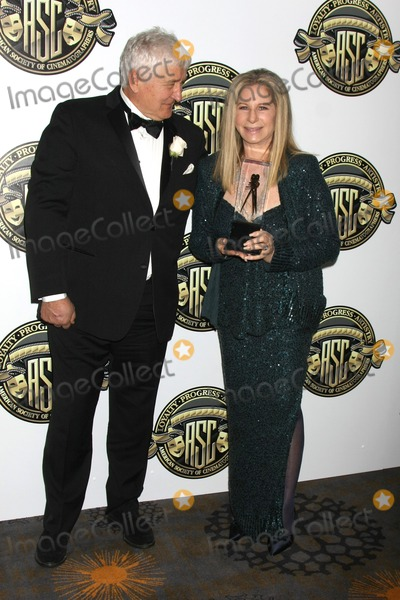 Andrzej Bartkowiak Photo - LOS ANGELES - FEB 15  Andrzej Bartkowiak Barbra Streisand at the 2015 American Society of Cinematographers Awards at a Century Plaza Hotel on February 15 2015 in Century City CA