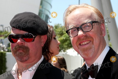 Adam Savage Photo - LOS ANGELES - AUG 21  Jamie Hyneman Adam Savage  arrives at the 2010 Creative Primetime Emmy Awards at Nokia Theater at LA Live on August 21 2010 in Los Angeles CA