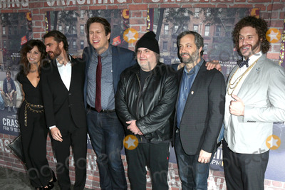 George Basil Photo - LOS ANGELES - FEB 15  Gina Gershon George Basil Pete Holmes Artie Lange Judd Apatow TJ Miller at the Crashing HBO Premiere Screening at the Avalon Hollywood on February 15 2017 in Los Angeles CA