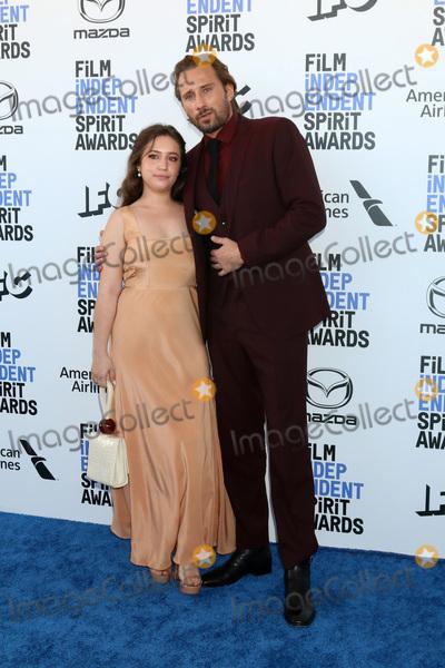 Matthias Schoenaerts Photo - LOS ANGELES - FEB 8  Gideon Adlon and Matthias Schoenaerts at the 2020 Film Independent Spirit Awards at the Beach on February 8 2020 in Santa Monica CA
