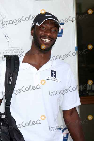 Aldis Hodge Photo - LOS ANGELES - SEP 10  Aldis Hodges arrives at the 13TH PRIMETIME EMMY CELEBRITY TEE-OFF at Oakmont Country Club on September 10 2012 in Glendale CA