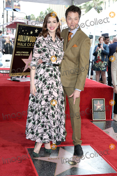 Ann Hathaway Photo - LOS ANGELES - MAY 9  Anne Hathaway Chris Addison at the Anne Hathaway Star Ceremony on the Hollywood Walk of Fame on May 9 2019 in Los Angeles CA