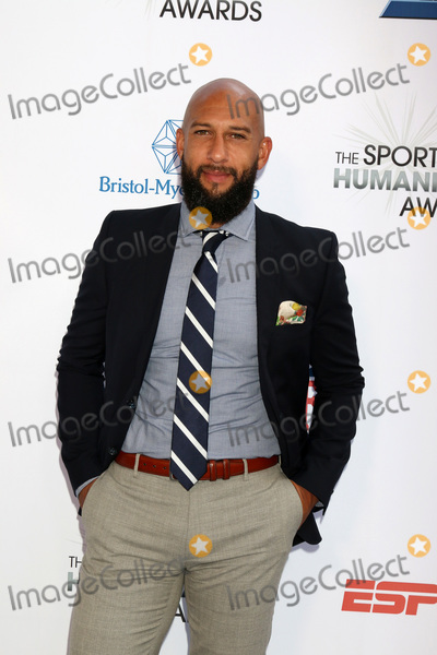 Tim Howard Photo - LOS ANGELES - JUL 17  Tim Howard at the 4th Annual Sports Humanitarian Awards on The Novo on July 17 2018 in Los Angeles CA