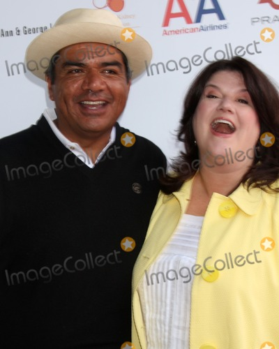 Ann Lopez Photo - George  Ann Lopez  arriving at the National Kidney Foundation Celebrity Golf Classic  at the Lakeside Lakeside Golf Club in Burbank CA onMay 4 2009