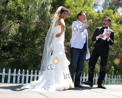 Lawrence Zarian Photo - LOS ANGELES - APR 14  Karla Mosley Mark Steines Lawrence Zarian at the Home and Family Celebrates Bold and Beautifuls 30 Years at Universal Studios Back Lot on April 14 2017 in Los Angeles CA