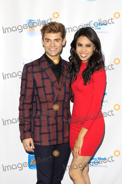 Ashley Argota Photo - LOS ANGELES - OCT 28  Garrett Clayton Ashley Argota at the 2018 Looking Ahead Awards at the Taglyan Cultural Complex on October 28 2018 in Los Angeles CA