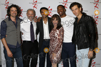 Abhi Sinha Photo - LOS ANGELES - AUG 19  Daniel Hall Max Shippee Abhi Sinha Kate Linder Darnell Kirkwood Ryan Ashton at the Young and Restless Fan Event 2017 at the Marriott Burbank Convention Center on August 19 2017 in Burbank CA