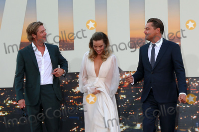 Margot Robbie Photo - LOS ANGELES - JUL 22  Brad Pitt Margot Robbie Leonardo DiCaprio at the Once Upon a Time in Hollywood Premiere at the TCL Chinese Theater IMAX on July 22 2019 in Los Angeles CA