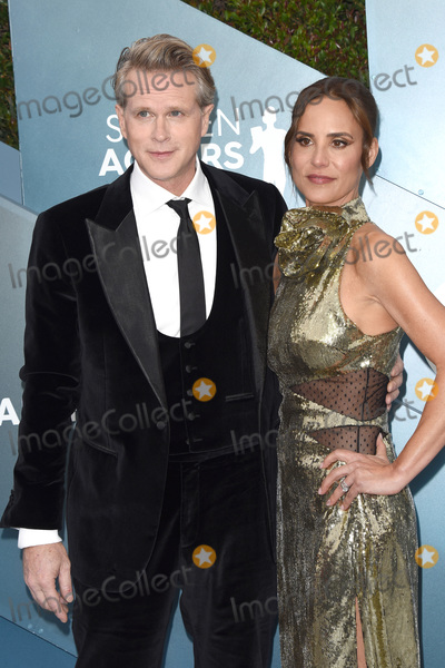 Lisa Marie Photo - LOS ANGELES - JAN 19  Cary Elwes Lisa Marie Kubikoff at the 26th Screen Actors Guild Awards at the Shrine Auditorium on January 19 2020 in Los Angeles CA