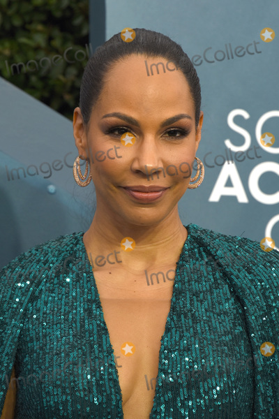 Amanda Brugel Photo - LOS ANGELES - JAN 19  Amanda Brugel at the 26th Screen Actors Guild Awards at the Shrine Auditorium on January 19 2020 in Los Angeles CA
