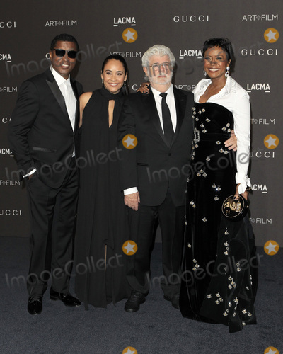 George Lucas Photo - LOS ANGELES - NOV 3  Kenneth Babyface Edmonds Nicole Pantenburg George Lucas Mellody Hobson at the 2018 LACMA Art and Film Gala at the Los Angeles County Musem of Art on November 3 2018 in Los Angeles CA