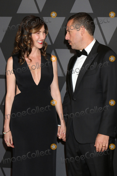 Adam Sandler Photo - LOS ANGELES - NOV 11  Jackie Sandler Adam Sandler at the AMPAS 9th Annual Governors Awards at Dolby Ballroom on November 11 2017 in Los Angeles CA