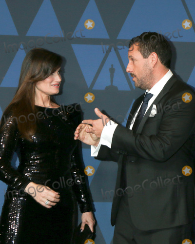 Adam Sandler Photo - LOS ANGELES - OCT 27  Idina Menzel Adam Sandler at the 11th Annual Governors Awards at the Dolby Theater on October 27 2019 in Los Angeles CA