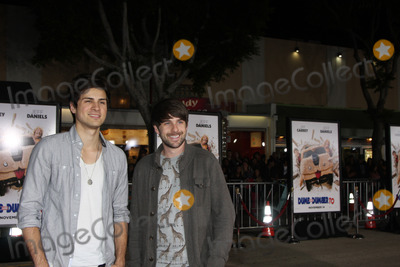 Anthony Padilla Photo - LOS ANGELES - NOV 3  Smosh Ian Hecox and Anthony Padilla at the Dumb and Dumber To Premiere at the Village Theater on November 3 2014 in Los Angeles CA